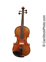 violin - The image of violin under the white background