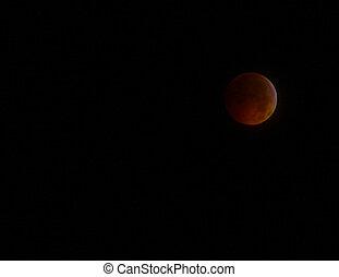GLOUCESTER - DECEMBER, 21: A Historical Lunar Eclipse...