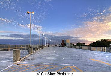 Parking Deck - Top of a parking deck