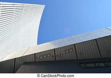 Architecture lines and angles - Lowry Museum, Salford Quays...