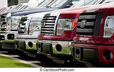 New truck lot