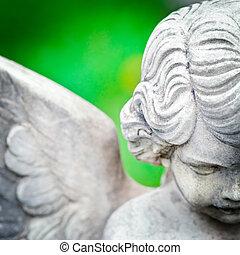 anjo, estátua