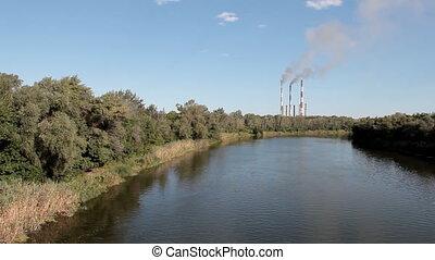 industry landscape - industry plant scene