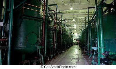 industry area - factory indoor