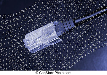 Cable with RJ-45 connector