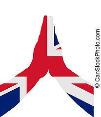 British praying