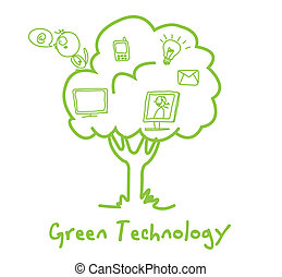 green ecology technology tree