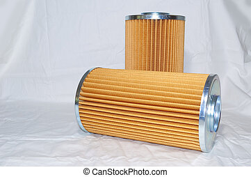 Hydraulic Filtration - Two Hydraulic Filters used for...