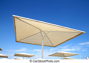 Beach umbrella in Turkey
