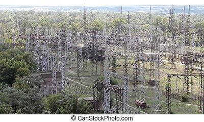 high voltage power transmission