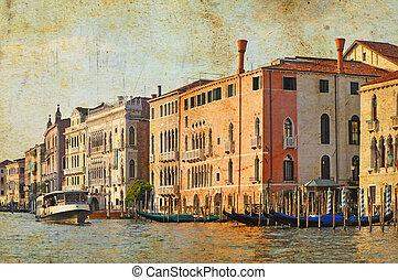 Venetian Grand Channel - View of Venetian Grand Channel,...
