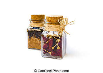Jars with pepper 2