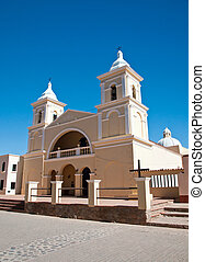 Beautiful colonial church in Argent - Beautiful old colonial...