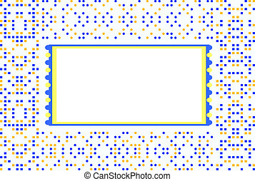 Texture with ethnic ornaments, colored motifs background