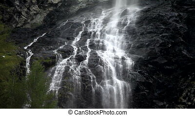 Waterfall - Big mountain waterfall