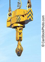 cat-crane, - lifting