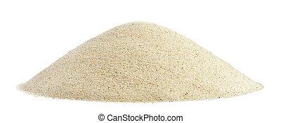 Pile of beach sand