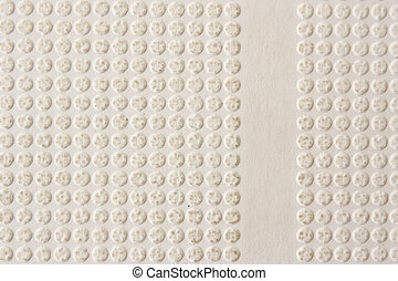 Texture of emboss paper
