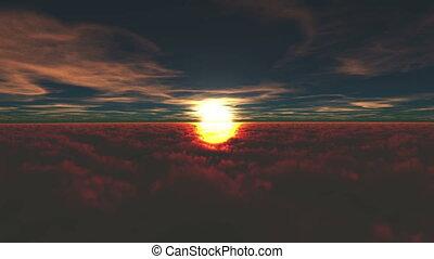 sunrise  - rising sun