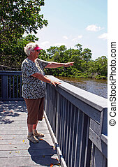 Woman Tourist
