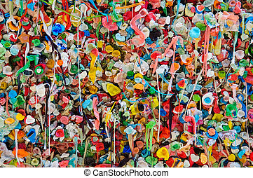 Bubble Gum Wall Background
