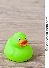 Rubber duck - Photo of a colorful rubber duck for bath