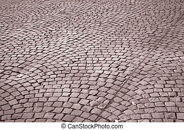 Cobble Stone Street Background, Paris, France