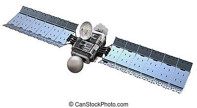 satellite, 3d