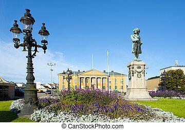 Market square in Karlskrona
