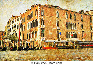 Venetian Grand Channel - View of Venetian Grand Channel,...