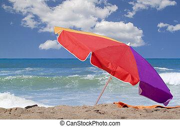 beach umbrella - big beach umbrella