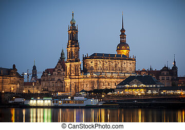 Hofkirche Dresden - An image of the famous Hofkirche in...