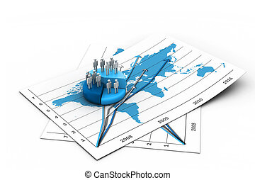 people in Business graph chart