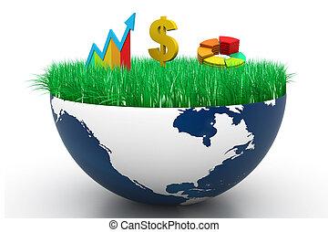 Analyzing World business graph