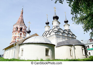 Ancient church in Suzdal A gold ring of Russia - Church in...