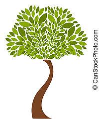 Tree illustration - Tree - vector illustration
