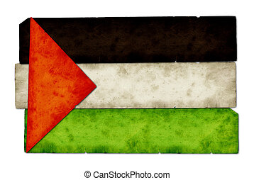 Palestine Flag Collage