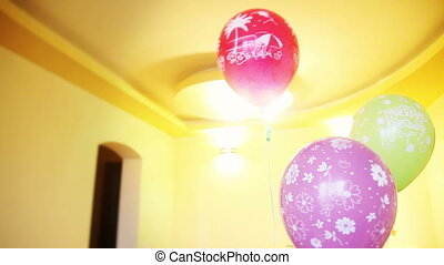 Happy BDay Helium Balloons