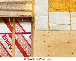 Wall insulation to save heating energy - Different types of...