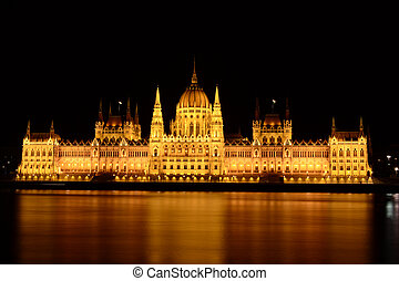 The Parlament of Budapest