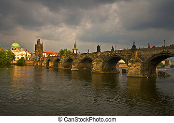 Prauge Charles Bridge - Prague Charles Bridge