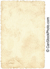 Old postcard background - Background of old beige postcard...