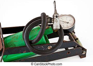 Old foot pump