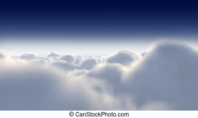 FLIGHT THROUGH CLOUDS HD 022 - FLIGHT THROUGH CLOUDS HD