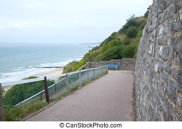 Bournemouth Beach View - Photo of Bournemouth beach view in...