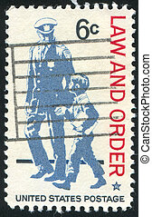 stamp - UNITED STATES - CIRCA 1968: stamp printed by United...