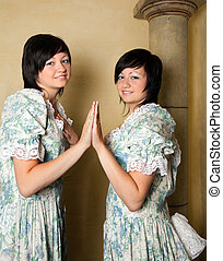 Zodiac Gemini girls - Gemini or Twins, this photo is part of...
