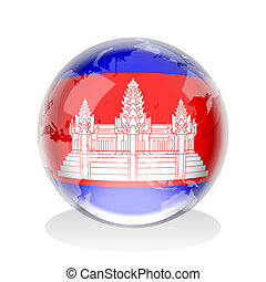 Cambodia Crystal Sphere