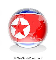 North Korea Crystal Sphere