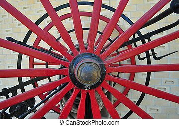 Old Wagon Wheel